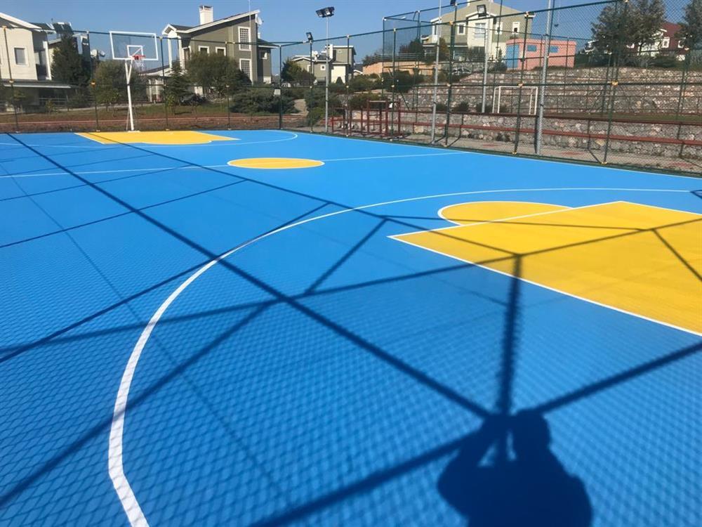 Güzelbahçe Evleri Spor Alanları Uygulamaları